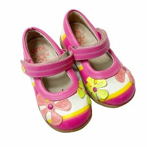 Umi floral Mary Janes